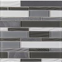 GLSELMLNR-OP - Elume Mosaic - Organic Pewter