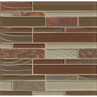 GLSELMLNR-RS - Elume Mosaic - Ruby Silk