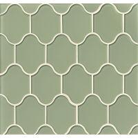 GLSMALFERPAL - Mallorca Glass Mosaic - Fern