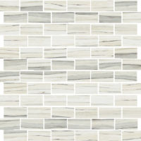 STPZEBCAL12MO - Zebrino Mosaic - Calacatta
