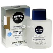 Nivea  After Shave Lotion Silver Protect Fluid