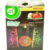 Air Wick Multicolor Scented Candle Black Edition Red Apple & Cinnamon