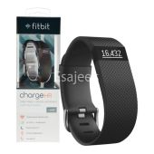 Fitbit Charge HR Wireless Activity Wristband Large - Black