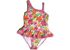 Gymboree Girl Swimsuit Floral Print Pink