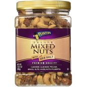 Planters Deluxe Mixed Nuts with Sea Salt
