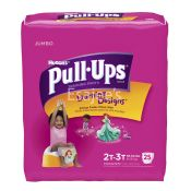 Huggies Pull-Ups Learning Design Girl's Training Pants