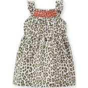 Carters  Poplin Leopard Dress