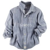 Carters  Boy Button Front Shirt