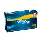 Tampax Pearl Plastic Regular Unscented