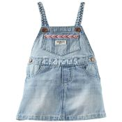 Oshkosh Girls Denim Jumperall Blue