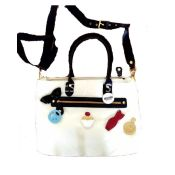 Moschino Perfume Ladies Handbags White