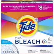 Tide  Detergents With Actilife bleach powder