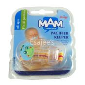 Mam Pacifier Keeper Holder Clip Soother Saver