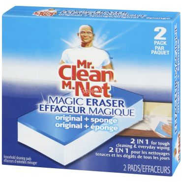 Mr Clean Magic Eraser Duo Cleaner