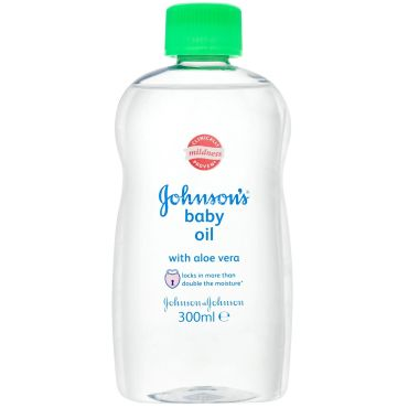 Johnsons Baby Oil Aloe Vera