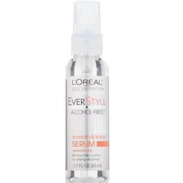 L'Oreal Ever Style Alcohol Free Smooth & Shine Serum Eliminates Frizz