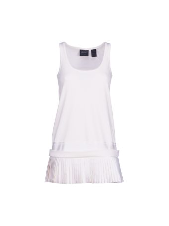 Puma Fenty By Rihanna Pleated Hem Jersey Tank