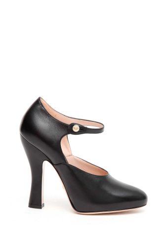 Gucci Curved Heel Pump