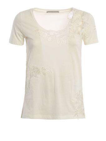 Ermanno Scervino Lace Detailing T-shirt