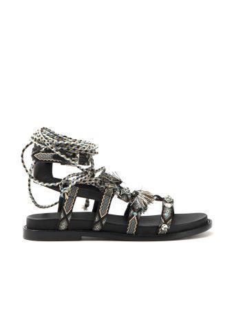 Slave Sandals Mascara