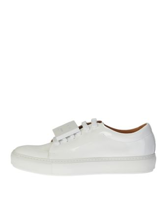 White Leather Adriana Sneakers