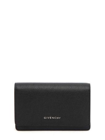 Givenchy 'pandora'chain Wallet Portafogli Con Catena