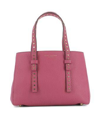 Fucsia Leather Handle Bag