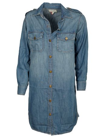 Current/Elliott The Perfect Denim Shirt Dress
