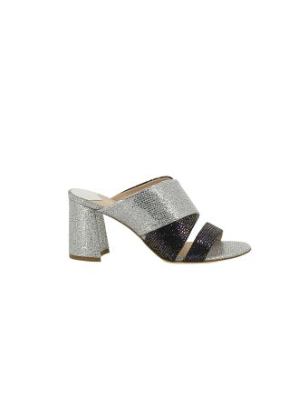 Polly Plume Glittered Molly Acapulco Sandals