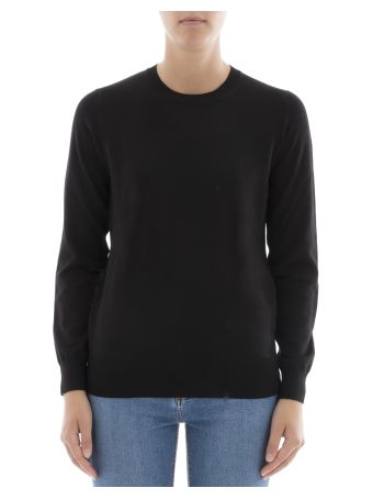 Black Wool Sweatshirt