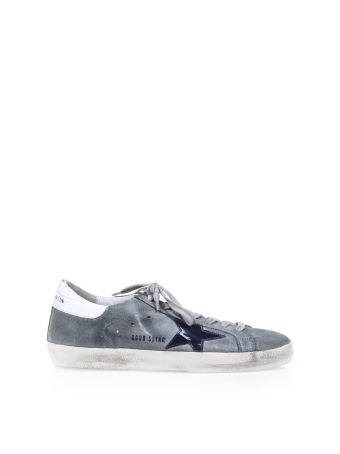 Golden Goose Superstar Waxed Calf Leather Sneakers
