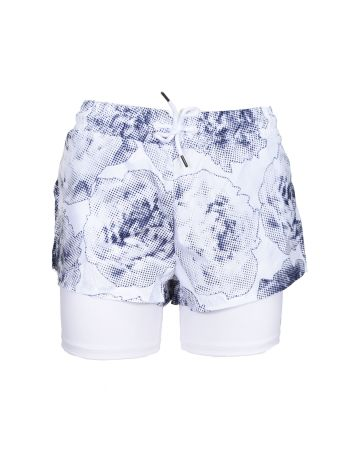 Adidas By Stella Mccartney Run 2 In 1 Shorts