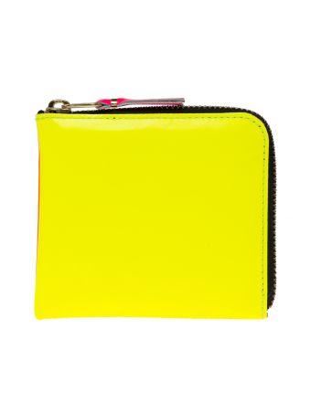 Comme Des Garçons Wallet 'super Fluo' Cardholder