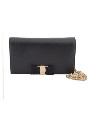 Salvatore Ferragamo Vara Wallet-on-a-chain Shoulder Bag