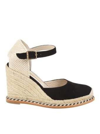 Paloma Barcelo Shoes Marie Suede Black
