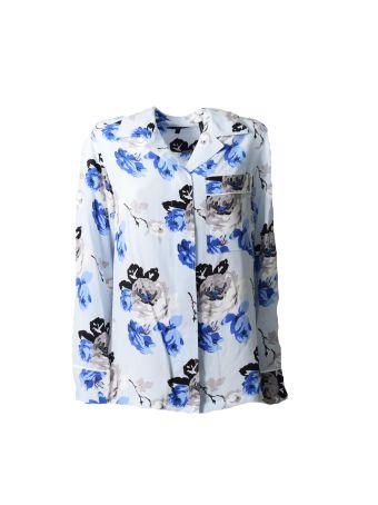 Theory Floral Print Shirt