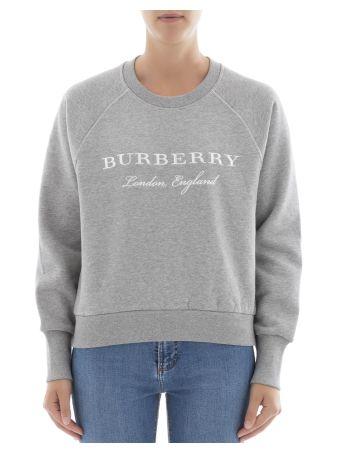 Grey Cotton Sweater