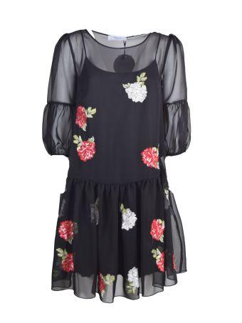 Blugirl Embroidered Flower Dress