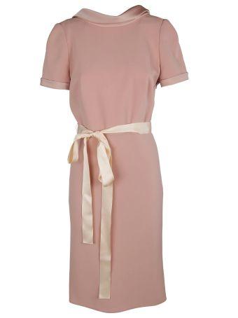 Paule Ka V-back Dress