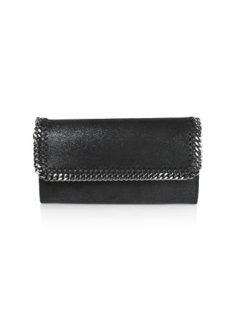 Black Continental Wallet