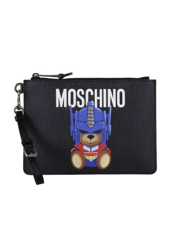 Clutch Shoulder Bag Women Moschino Couture