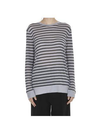 T By Alexander Wang Stripe Linen Sweater