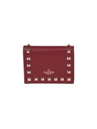 Valentino Garavani Rockstud Flap French Wallet