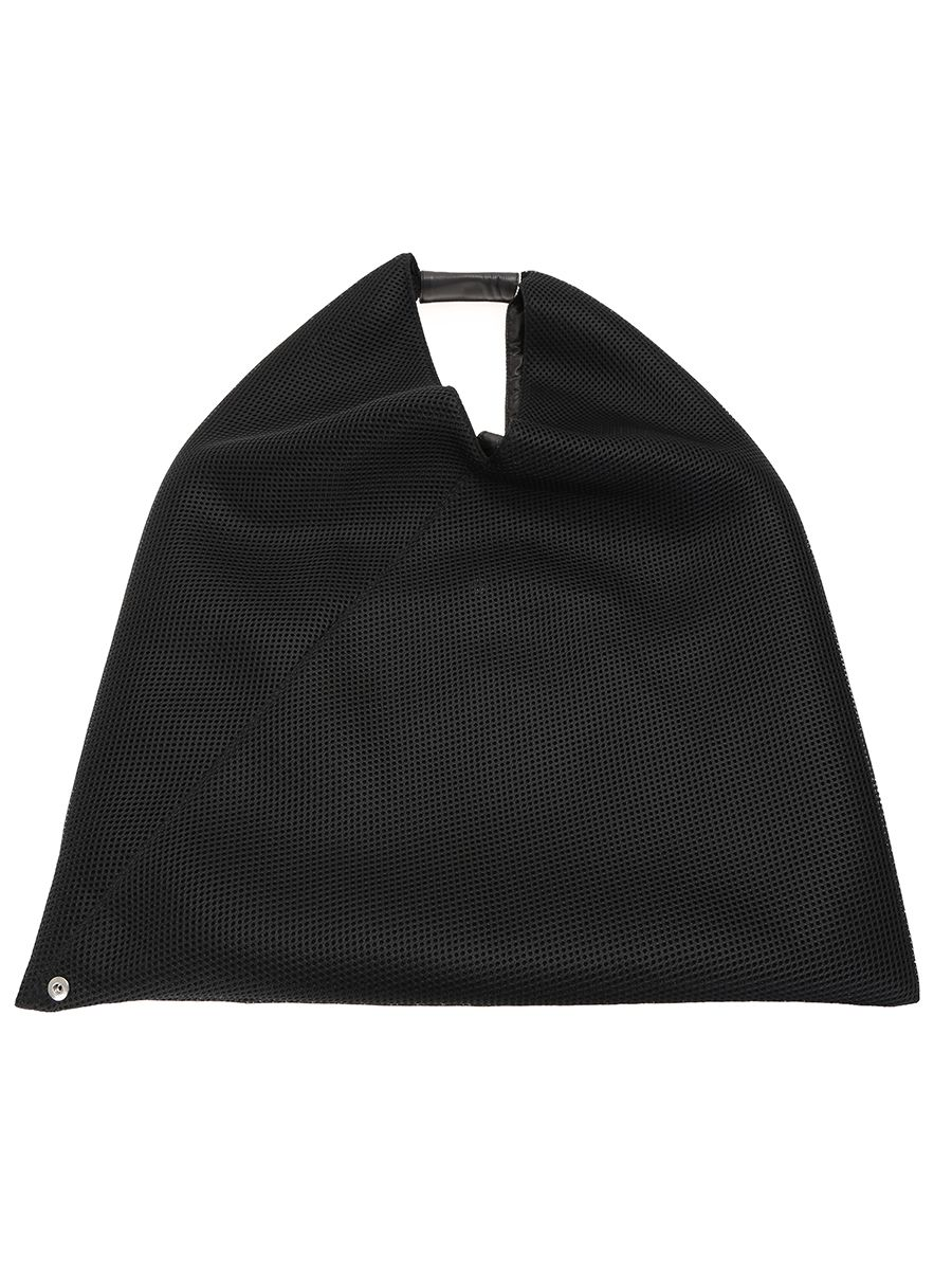 Japanese Shopper Black Bag Mesh