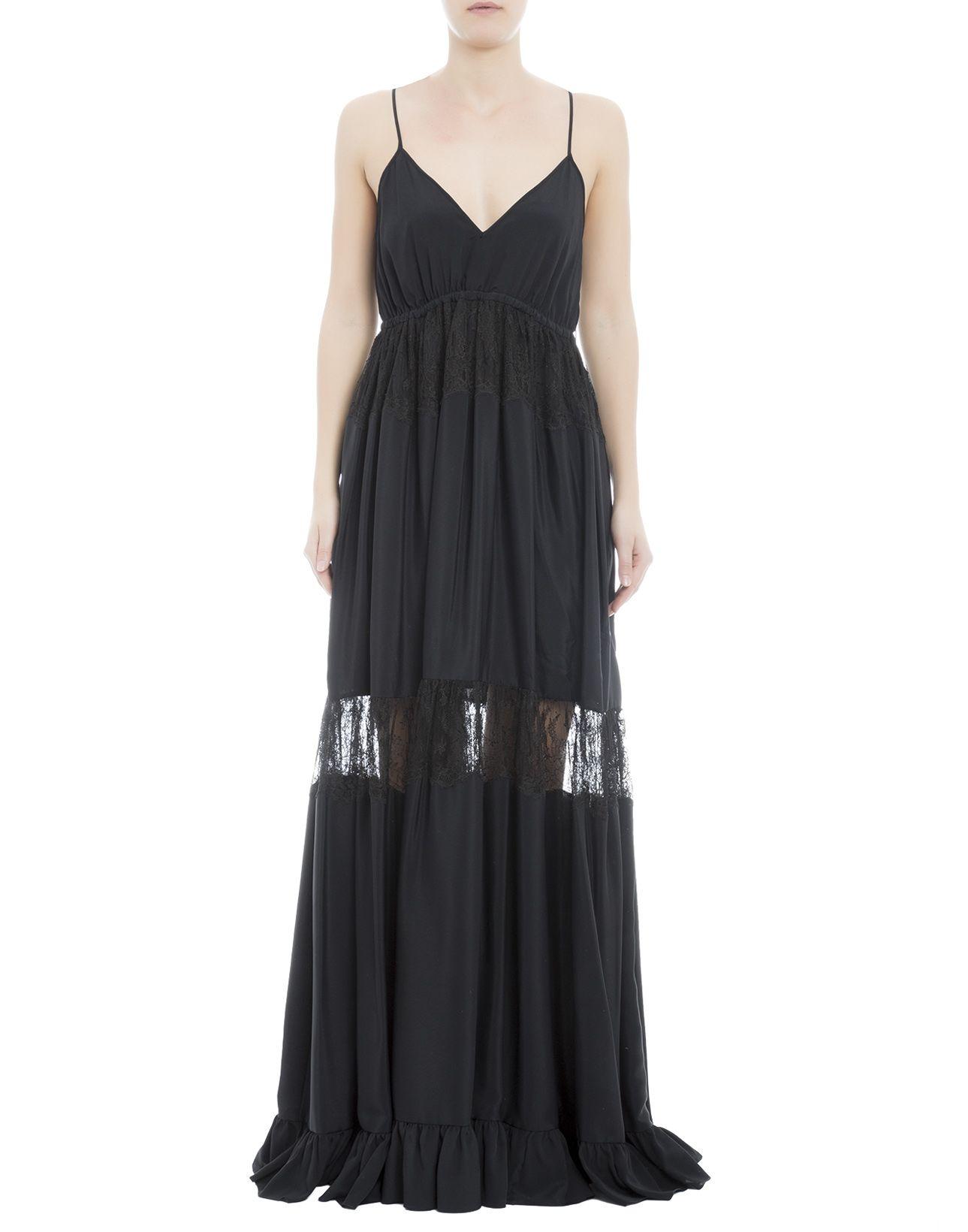 Black Acetate Dress