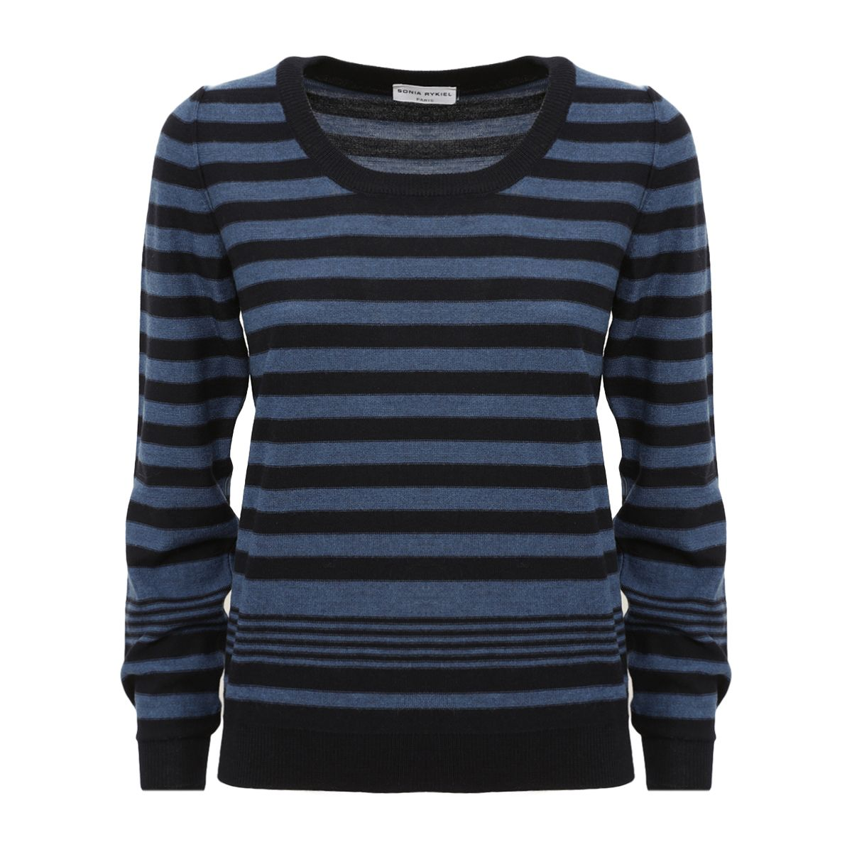 Sonia Rykiel Striped Fitted Sweater