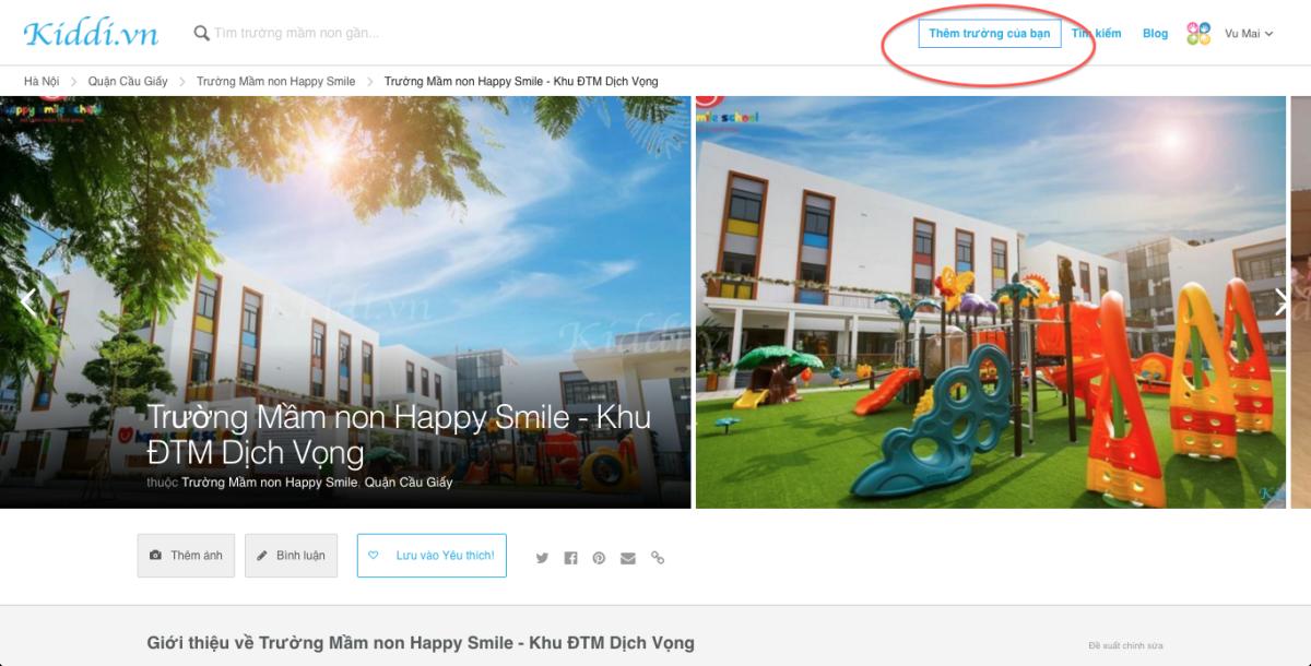 Hướng dẫn sử dụng những thao tác cơ bản trên Kiddi.vn