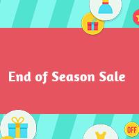 End of season sale  2  qnliof