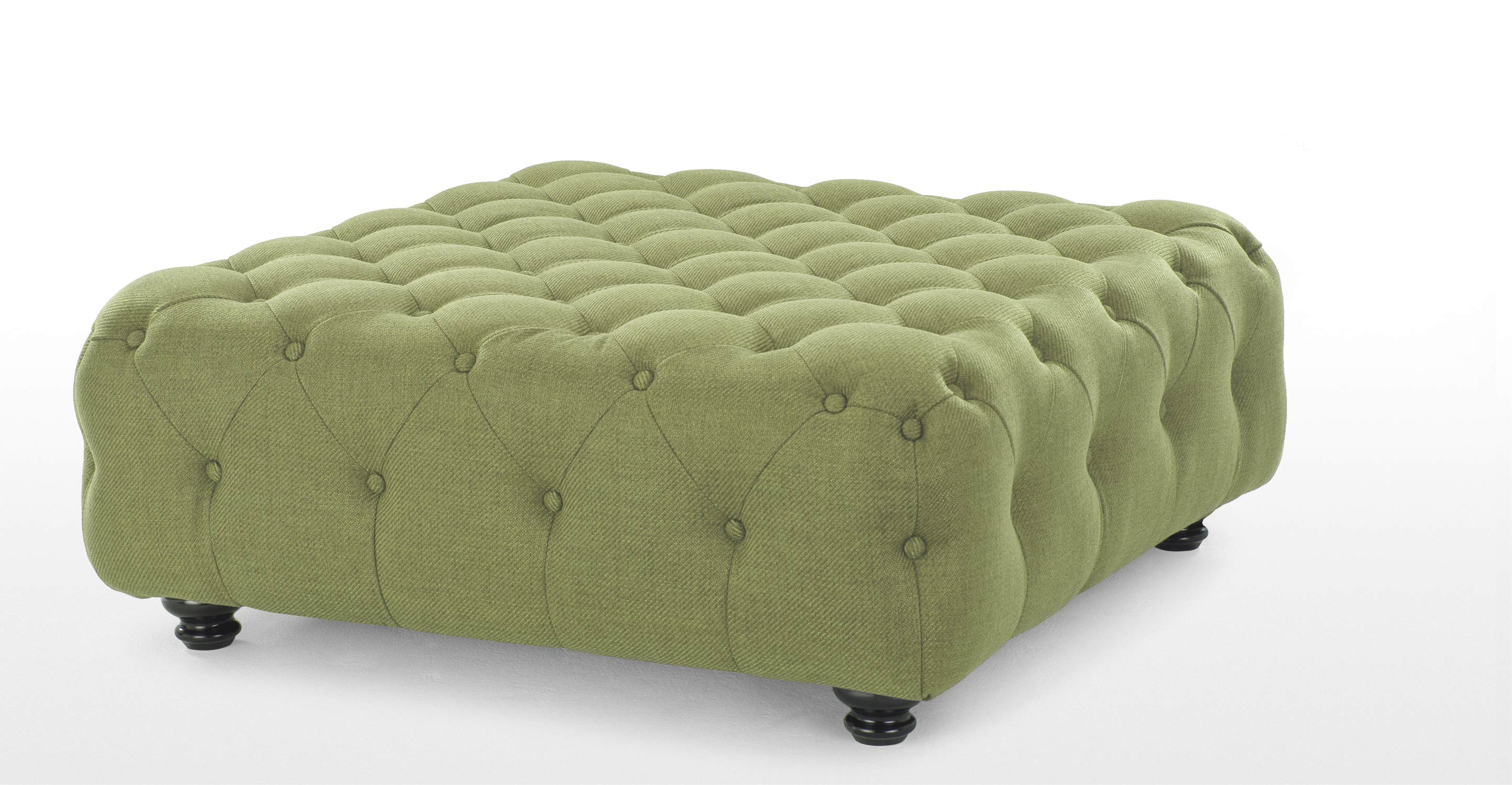 Branagh Large Footstool In Lime Green Made Com
