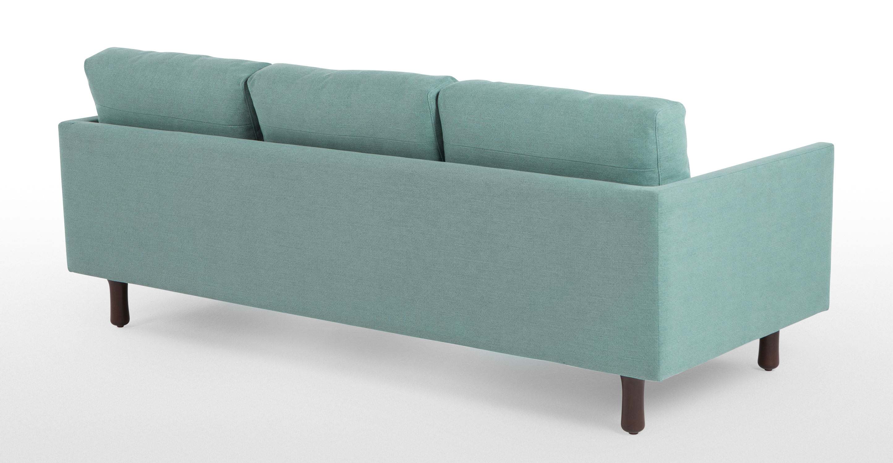 Carey 3 Seater Sofa Turquoise Linen